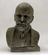 Бюст В И Ленин скульптор Г Нерода