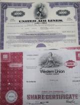 Акция (облигация) США