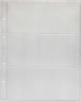 Лист для бон на 3 ячейки Grand 245x310 мм