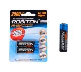 Аккумулятор Robiton  AA 1800 mAh